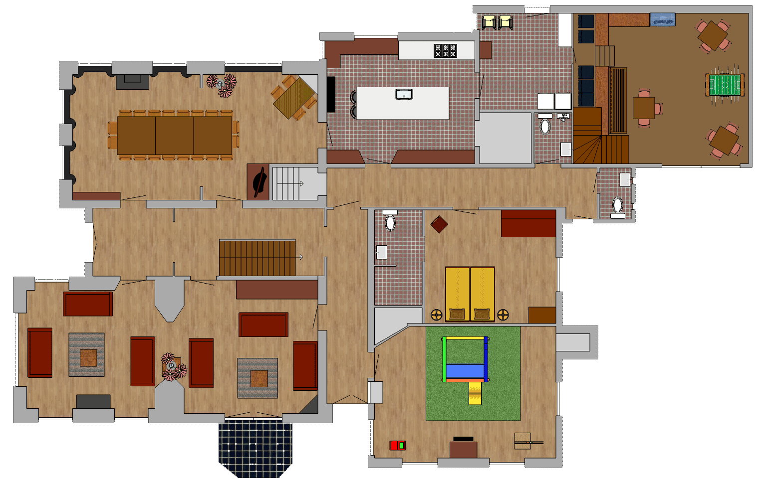 ground floor holiday home